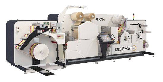 prati digifast one - label finishing machine