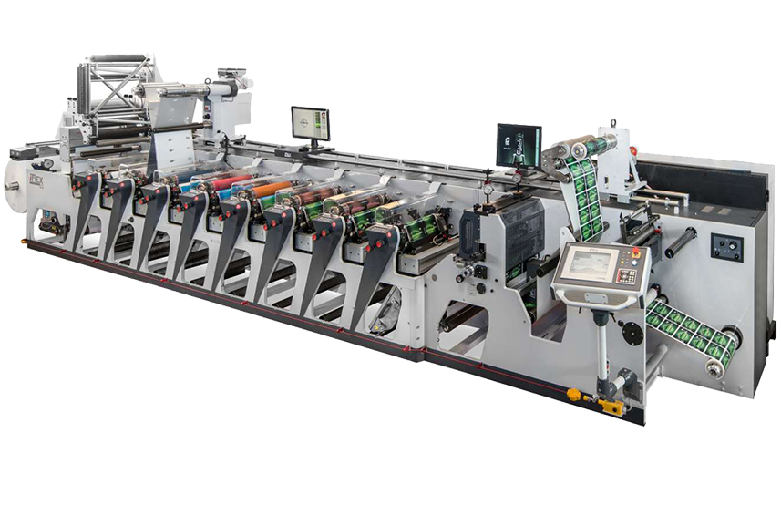 OMET iflex printing deck for flexo printing